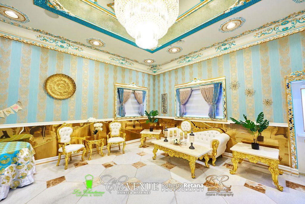 Chic Venue Golden Palace